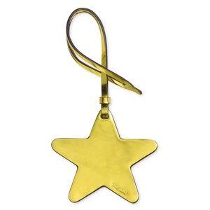 Coach Leather Gold Star Purse Charm